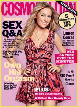 Lauren Conrad Covers Cosmopolitan October 2010