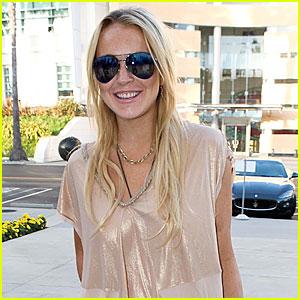 Lindsay Lohan: VMAs Appearance!