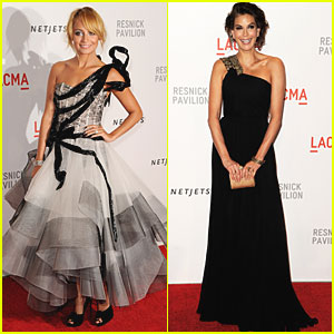 Nicole Richie & Teri Hatcher: LACMA Ladies