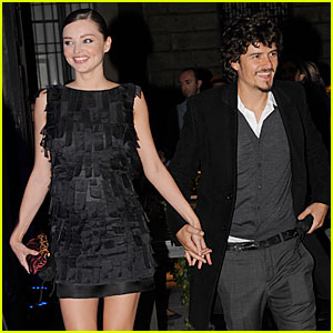 Orlando Bloom & Miranda Kerr: Scents of the Future!