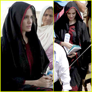 Angelina Jolie in Pakistan -- FIRST PICS