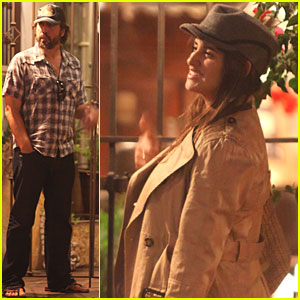 Penelope Cruz & Javier Bardem: Santa Monica Movie Night!