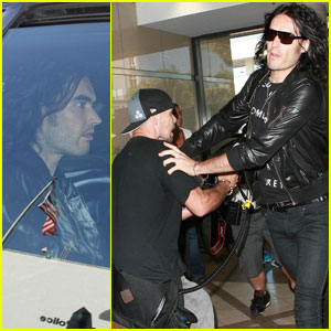 Russell Brand: Citizen's Arrest at LAX