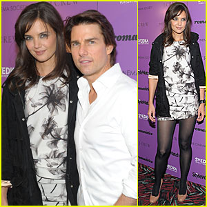 Tom Cruise & Katie Holmes are Romantics at Heart