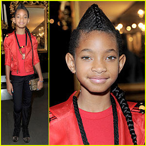 Willow Smith: Faux Hawk Braid!