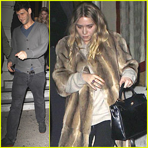 Ashley Olsen: Sushi Date with Justin Bartha!