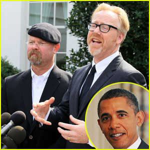 President Obama: Mythbusters' Newest Guest Star!
