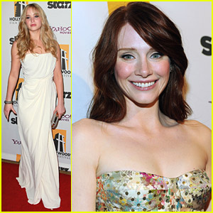 Bryce Dallas Howard & Jennifer Lawrence: Hollywood Gala Gals