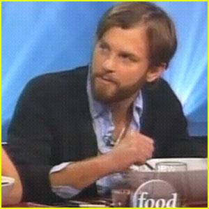 Caleb Followill: Iron Chef America Guest Judge!
