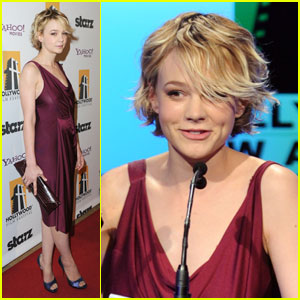 Carey Mulligan: Hollywood Awards Gala Presenter!