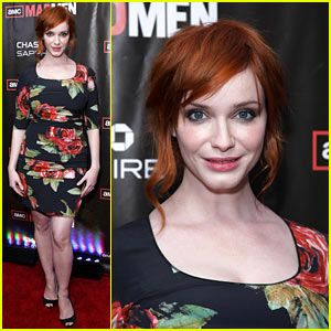 Christina Hendricks: 'Mad Men' Season Finale Screening