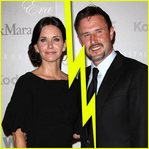 Courteney Cox & David Arquette Split