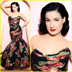 Dita Von Teese Gets Private For Cointreau