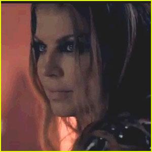 Fergie: 'Beautiful Dangerous' Video with Slash!
