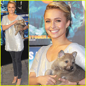 Hayden Panettiere: Leader of the Pack in London!