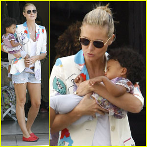 Heidi Klum: Getting Ready for Lou's First Birthday!