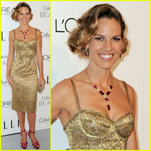 Hilary Swank: Elle's Women in Hollywood Tribute Honoree!