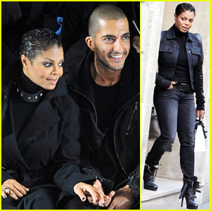 Janet Jackson: Paris Fashion Week with Wissam Al Mana!