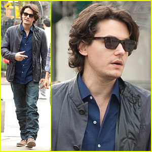 John Mayer Visits The West Village