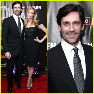 Jon Hamm: 'Mad Men' Screening with Jennifer Westfeldt!