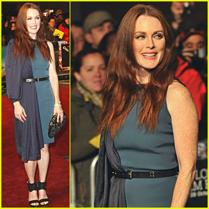 Julianne Moore: Two Faced Dress at London Premiere!