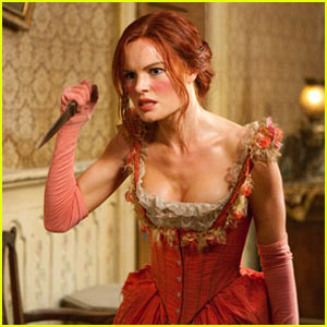 Kate Bosworth: Knife Throwing Expert!