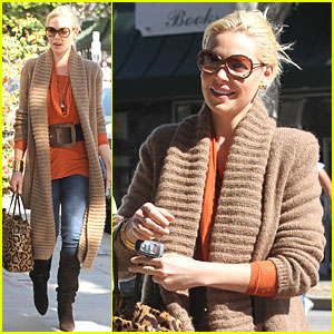 Katherine Heigl: Leopard Print Lunch!