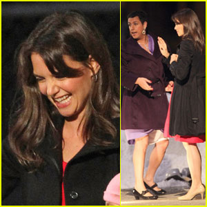 Katie Holmes & Adam Sandler: Christmas & Cross-Dressing!