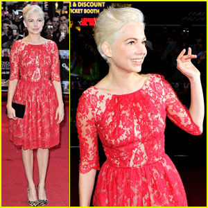 Michelle Williams: 'Blue Valentine' London Premiere!