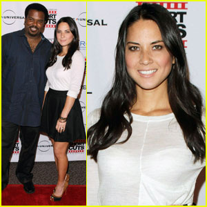 Olivia Munn Takes 'Short Cut' with Craig Robinson