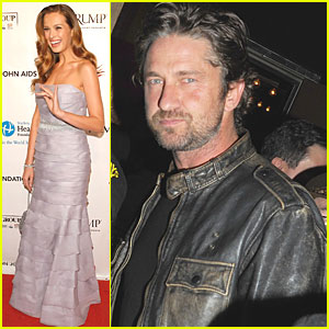 Gerard Butler & Petra Nemcova: Welcome to the Rileys!