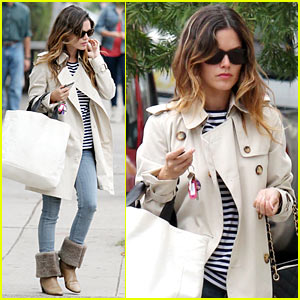 Rachel Bilson Likes to Add Pops of Color