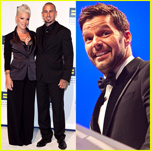 Ricky Martin & Pink: Human Rights Campaigners