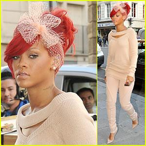 Rihanna: Jean Paul Gaultier in Paris!