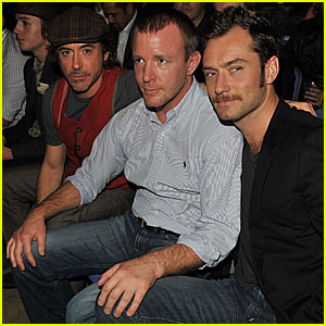 Jude Law & Robert Downey Jr.: Guy Ritchie Sandwich!