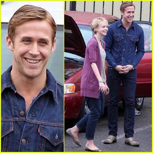Ryan Gosling & Carey Mulligan Take A Rainy 'Drive'