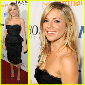 Sienna Miller: Esquire House LA Host!