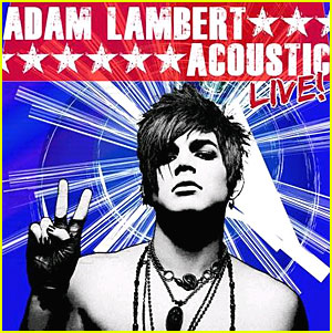 Adam Lambert: 'Acoustic Live' Out December 6!