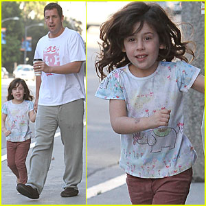 Adam Sandler & Sadie: 'Megamind' at the Movies!