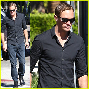 Alexander Skarsgard: Urth Cafe Coffee Man