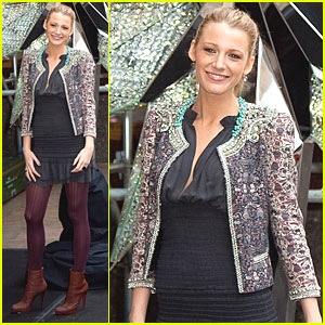 Blake Lively Unveils Swarovski Star in NYC