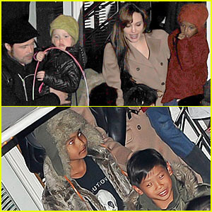 Brad Pitt &#038; Angelina Jolie: Pax Birthday Boat!