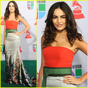 Camilla Belle Visits Las Vegas for Latin Grammys!