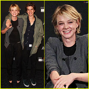 carey mulligan andrew garfield dating Kathy h (carey mulligan) is our narrator, a 28-year-old woman reflecting on her childhood in england in the late '70s and beyond at hailsham boarding school, kathy made her first memories, many of which involve chasing her crush tommy (andrew garfield) under the scornful eye of her best friend ruth.