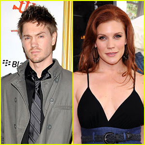 Chad Michael Murray: 'Haunting in Georgia' with Katee Sackhoff!