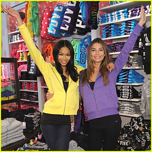 Lily Aldridge & Chanel Iman Reveal VS Holiday Picks