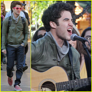 Darren Criss Covers Little Mermaid's