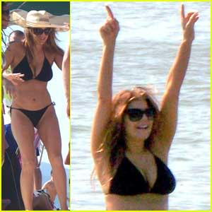Fergie: Black Eyed Bikini