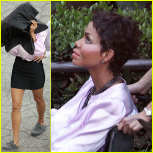 Halle Berry: Fake Face & Breasts for 'Truth or Dare'