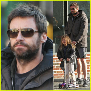 Hugh Jackman: Scruffy Scooter